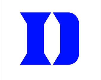 Duke blue devils svg.