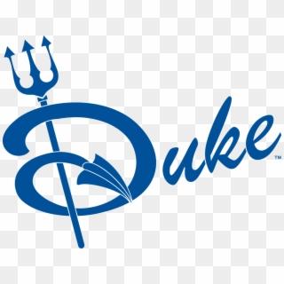 Duke Blue Devil Logos Alternative Clipart Design.