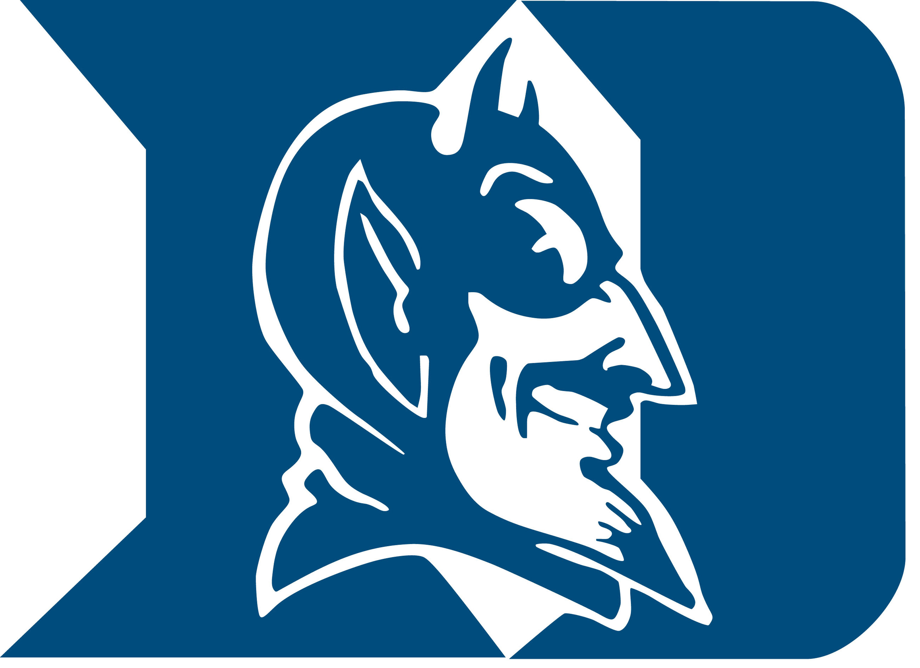 Duke basketball desktop clipart.