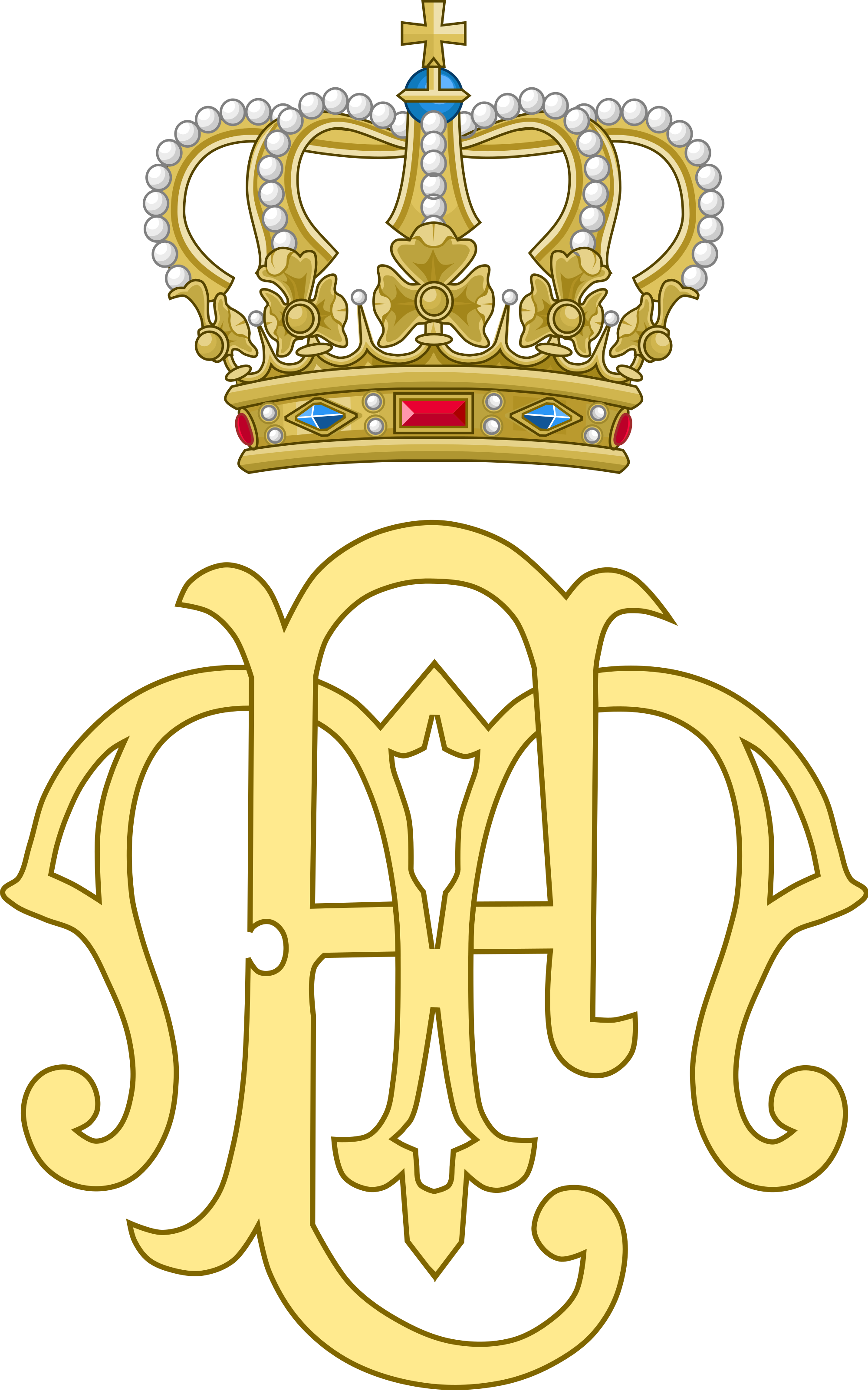 File:Dual Cypher of Duke Friedrich II and Duchess Marie of Anhalt.