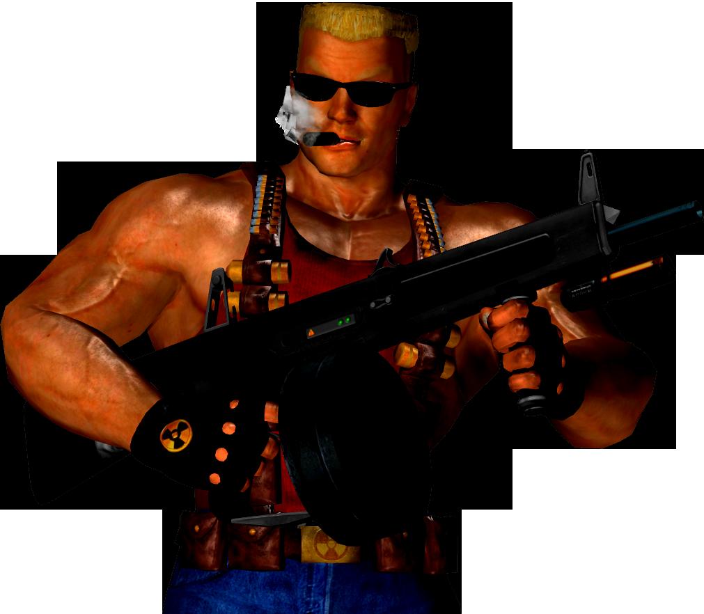 Duke Nukem Transparent Image.
