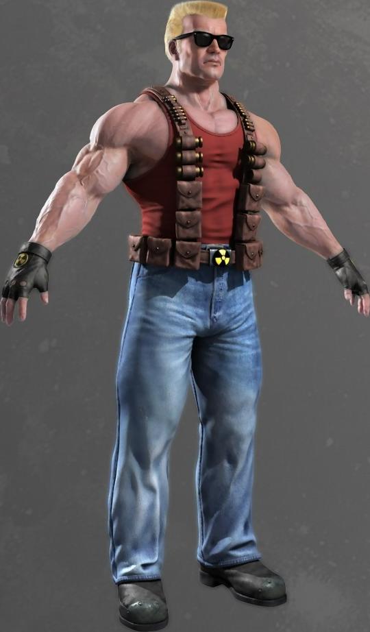Duke Nukem Free PNG Image.