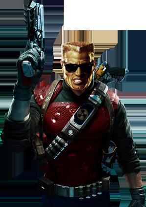 Concept) Duke Nukem: Intergalactic Bounty Hunter.
