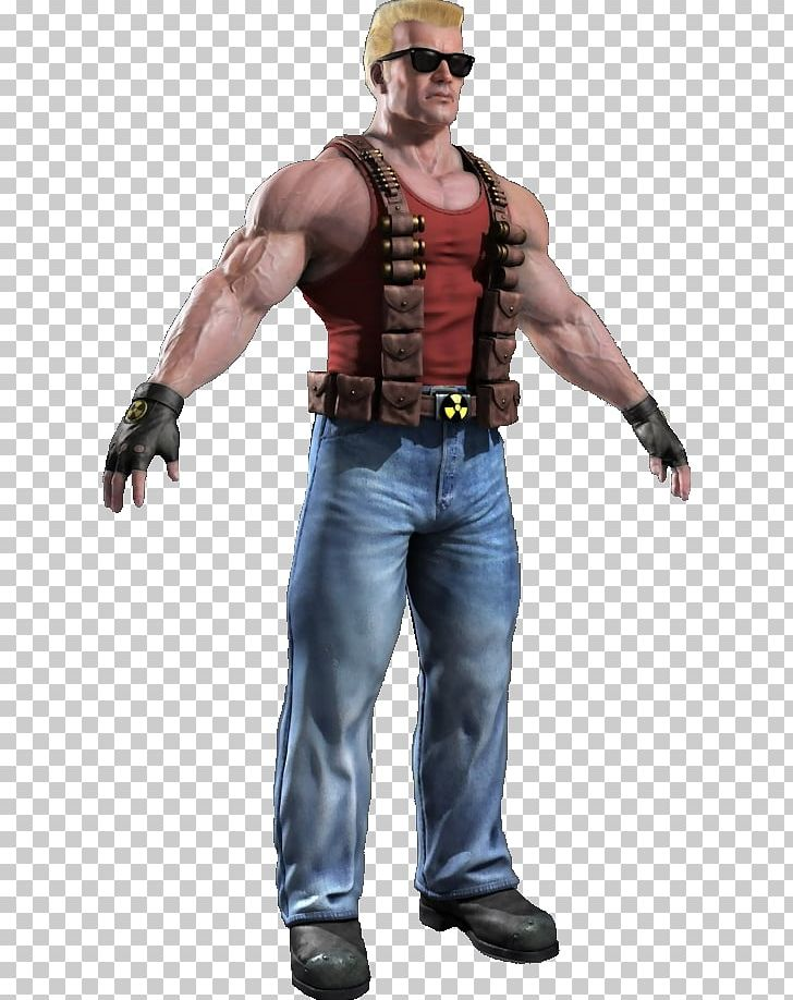 Duke Nukem Character PNG, Clipart, Action Figure, Aggression.
