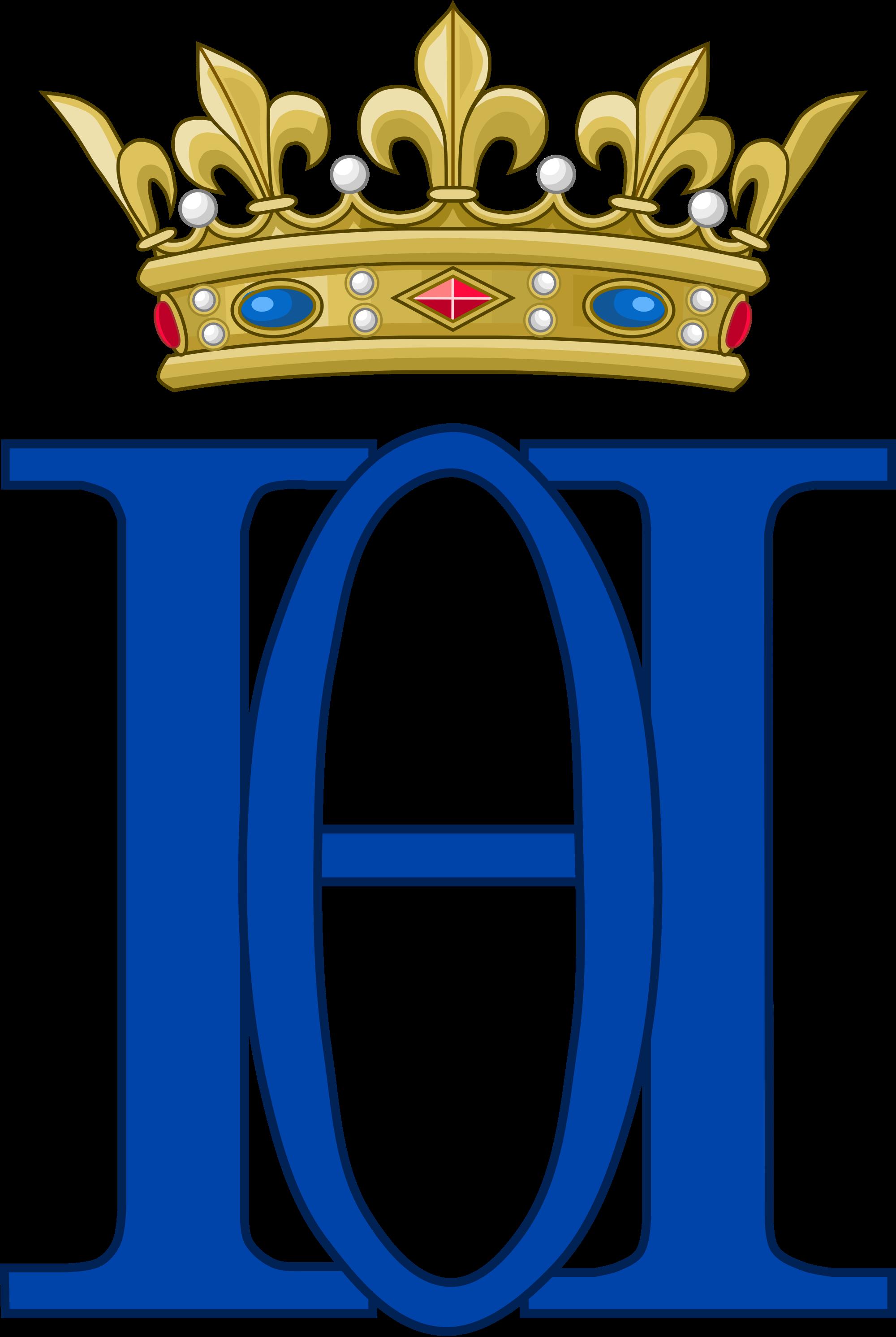 File:Royal Monogram of Henri d'Orleans, Duke of Aumale, Variant.
