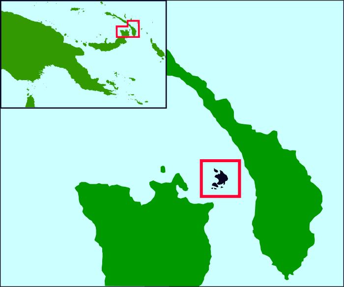 Duke of York Islands Pos • Mapsof.net.
