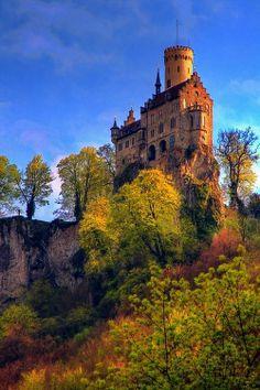 Castle Lichtenstein by Karl Illini.