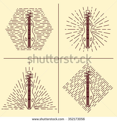 Dulcimer Stock Photos, Royalty.