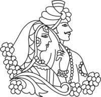 Image result for indian wedding clipart.