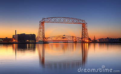Duluth Minnesota Royalty Free Stock Photography.