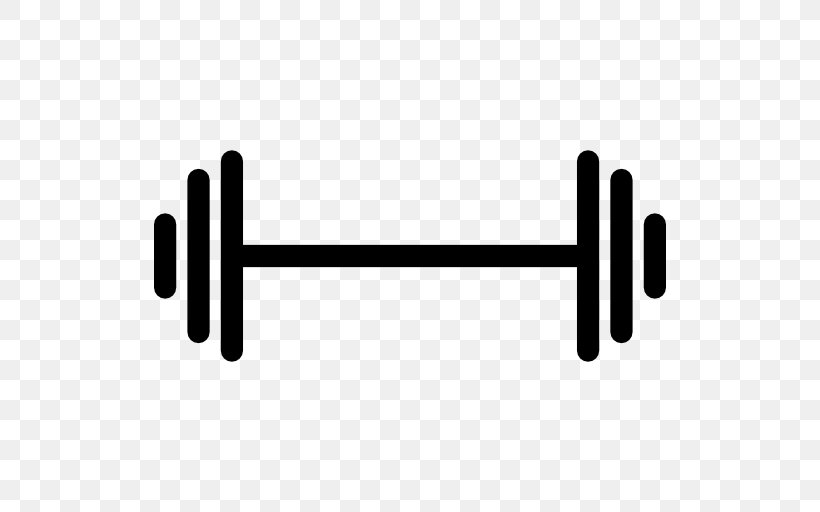Barbell Dumbbell Weight Training Physical Fitness Clip Art.
