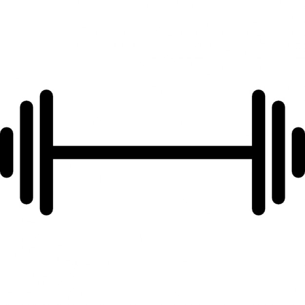 Dumbbell Clipart Free.
