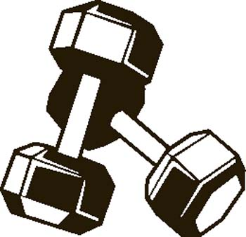 Weights clipart - Clipground