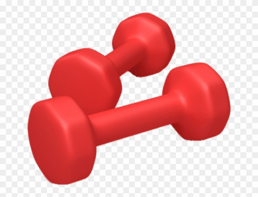 Download Red Dumbbells Png Images Background Clipart (#2918690.