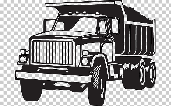 Open Dump truck Vehicle, truck PNG clipart.