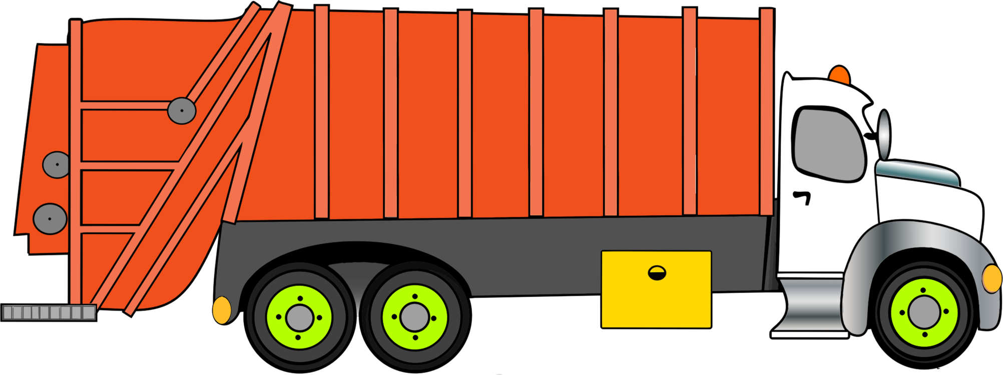 Garbage truck clipart clipart images gallery for free download.
