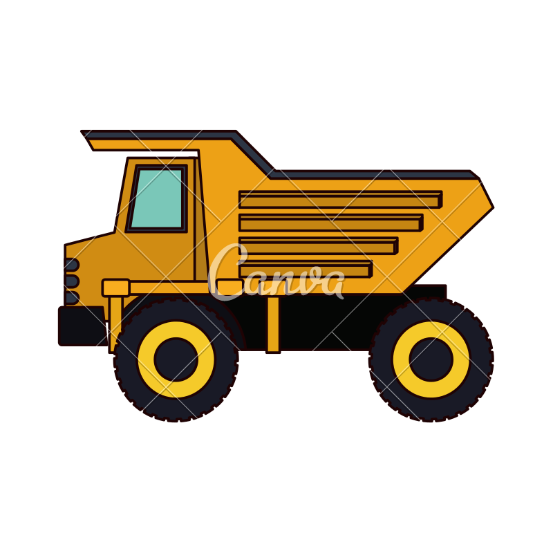Dump truck silhouette clipart images gallery for free download.
