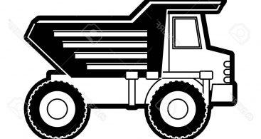 Dump Truck Silhouette Archives.
