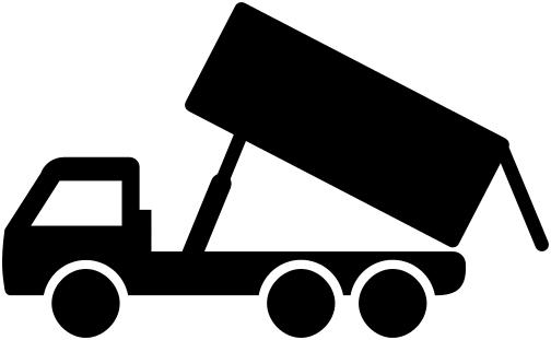 Dump Trucks Clipart.