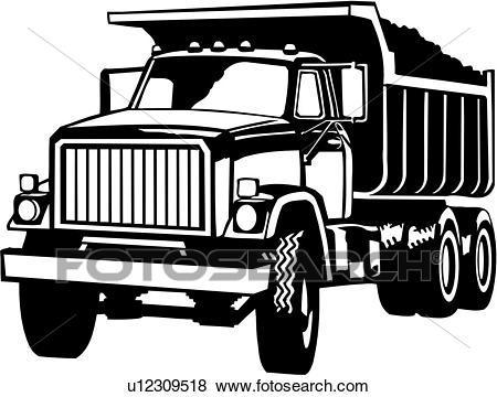 Dump trucks clipart 6 » Clipart Portal.