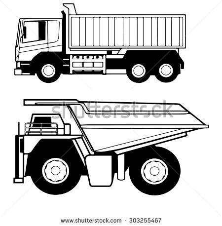 8+ Dumper Trucks Clipart.