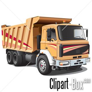 CLIPART DUMPER TRUCK.