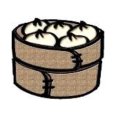 dumpling clipart 5350452 un vapor de bambu lleno de #dumplings.