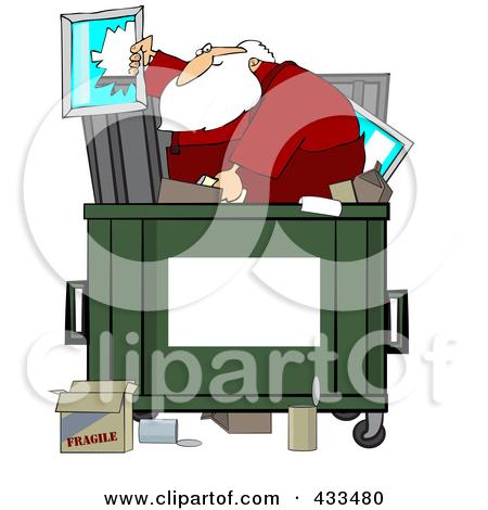 Dumpster clipart #3