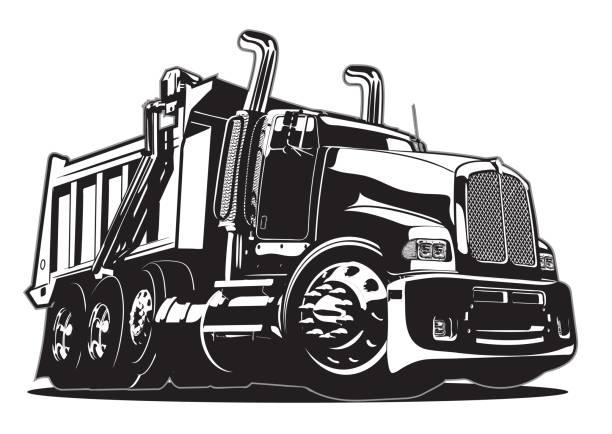 Best Dump Truck Illustrations, Royalty.