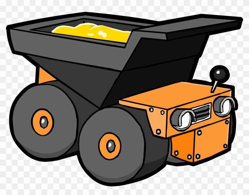Cartoon Dump Truck Png Clipart.