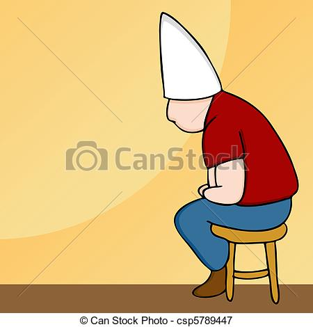 Dunce Illustrations and Clip Art. 213 Dunce royalty free.
