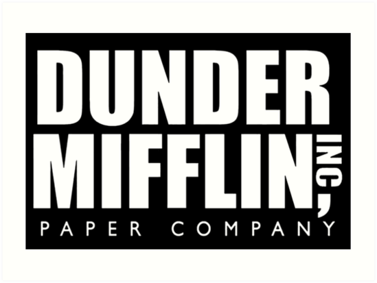 Dunder Mifflin Logo Png (108+ images in Collection) Page 2.