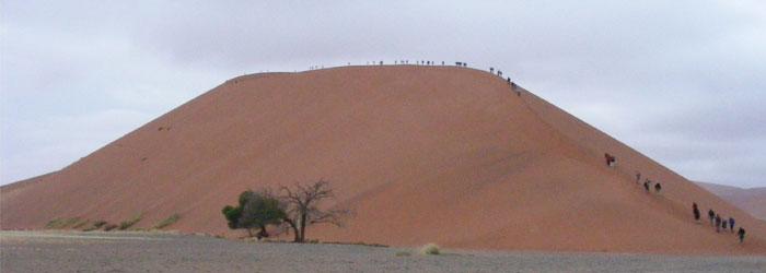 Sossusvlei Dunes.