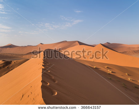 Namibia Dunes Stock Photos, Royalty.