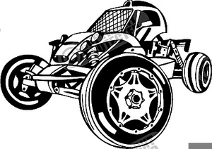 Dune Buggy Clipart.