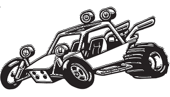 Dune Buggy decal.