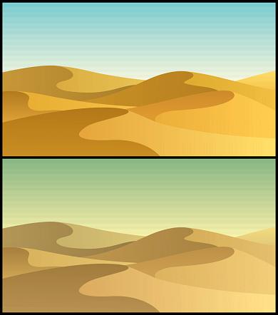 Sand Dune Clip Art, Vector Images & Illustrations.