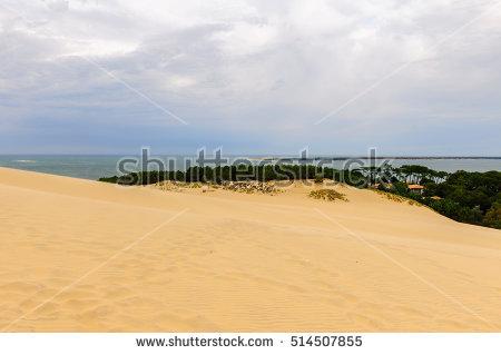 Dune Of Pilat Stock Photos, Royalty.