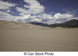 Stock Photography of Great Sand Dunes National Park.