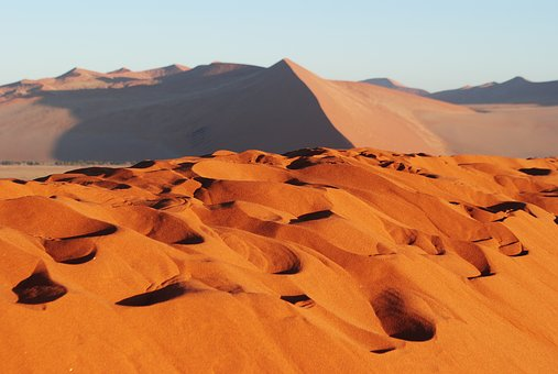 Sand, Dunes.