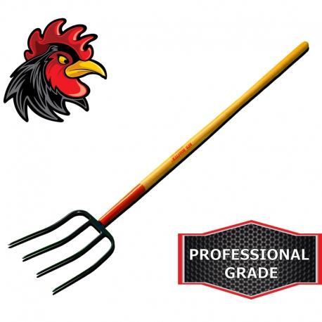 Red Rooster® Manure Fork.