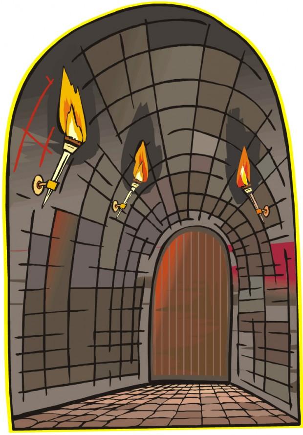Dungeon Clip Art.