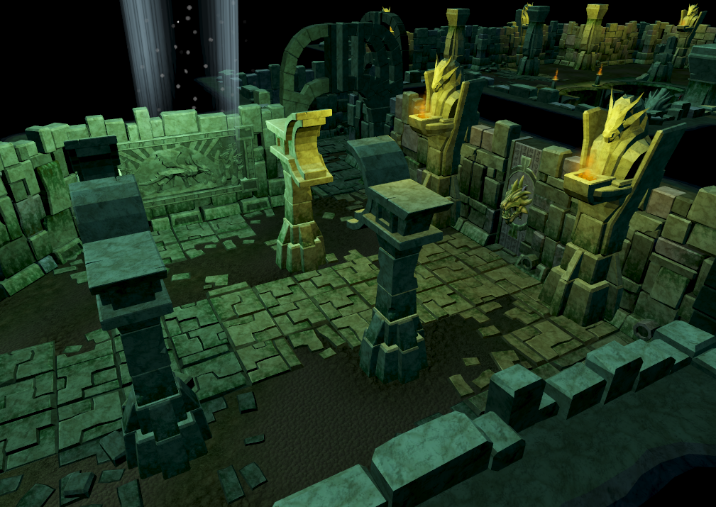 Edimmu resource dungeon.