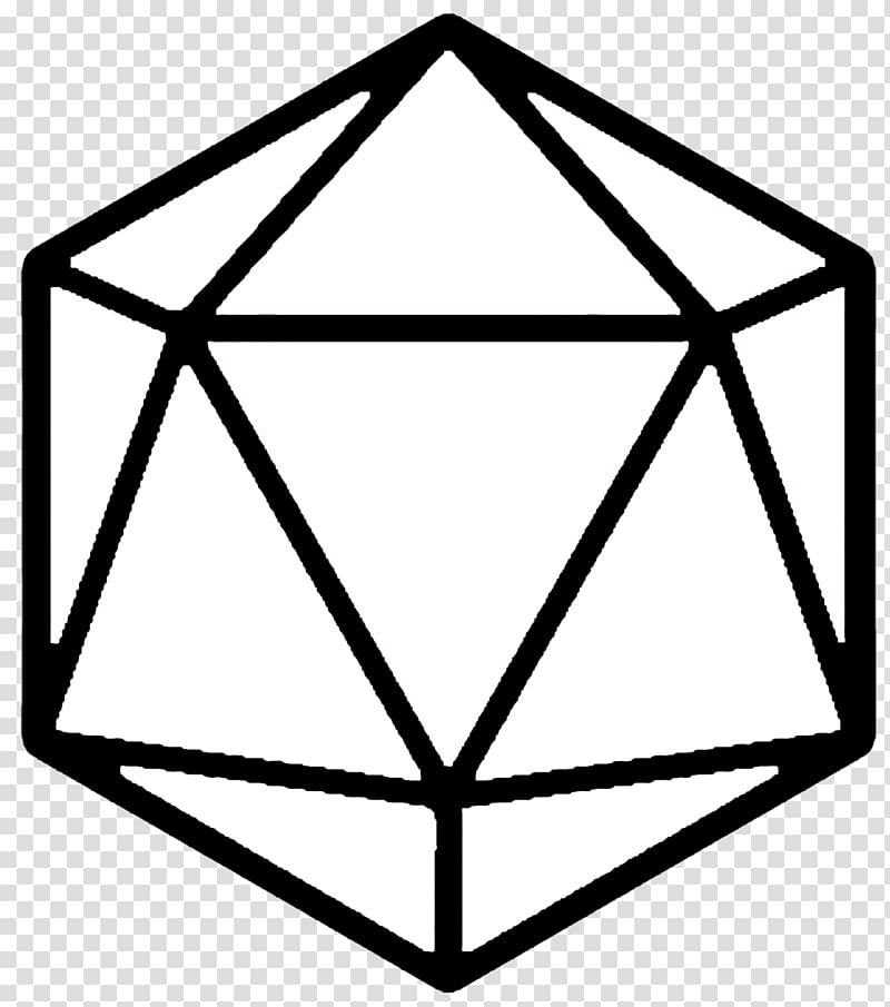 D20 System Dungeons & Dragons Set Dice Role.