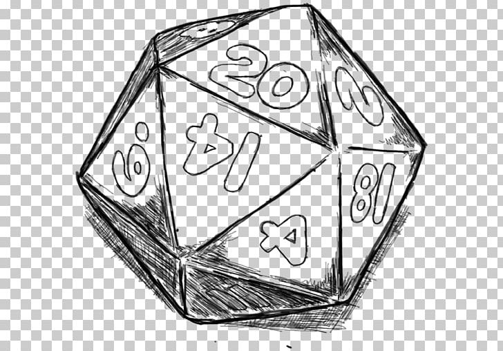 Dungeons & Dragons D20 System Dice Role.