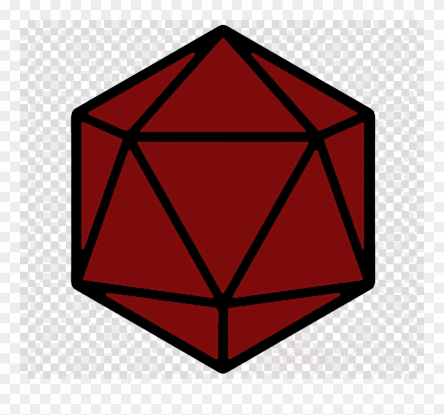 Dungeons & Dragons Dice Clip Art.