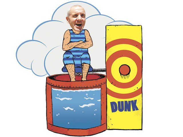 Dunk Tank Pictures.