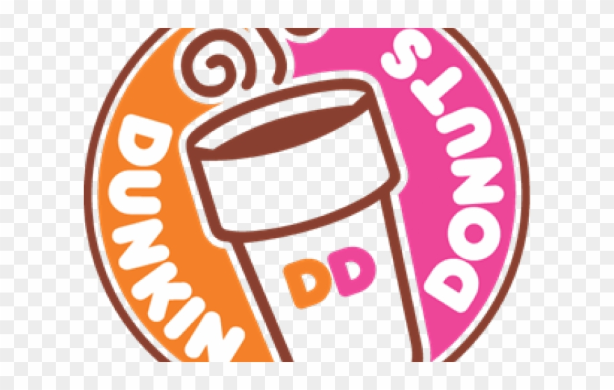 Dunkin Donuts Clipart Outline.