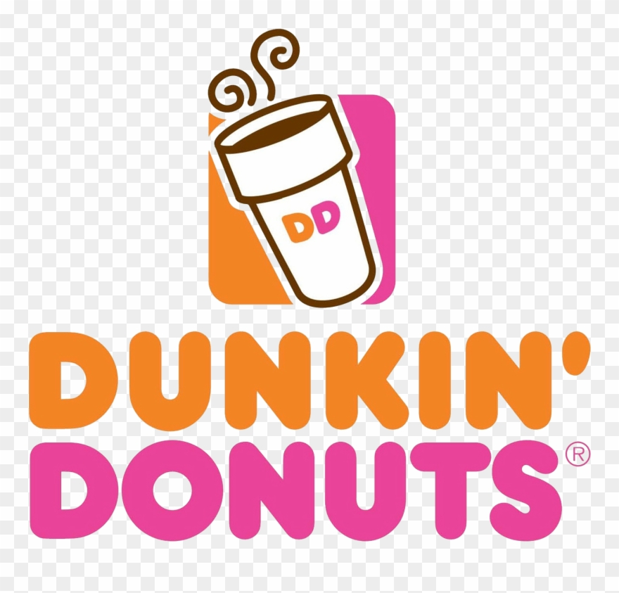 Dunkin Donuts Logo Png Clipart (#1566836).