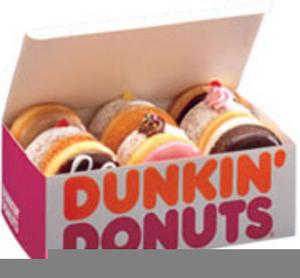 Dunkin Donuts Clipart.